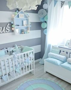 Pin by kyra hardin on nursery ideas baby bedroom, baby boy rooms, baby Baby Bedroom, Baby Boy Rooms, Baby Boy Nurseries, Nursery Room, Girl Nursery, Girl Room, Baby Boys, Kids Bedroom, Room Baby