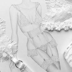 Stunning Draw a Fashionable Dress Ideas. Exhilarating Draw a Fashionable Dress Ideas. Lingerie Illustration, Fashion Illustration Dresses, Illustration Mode, Moda Fashion, Fashion Art, Fashion Outfits, Fashion Design Sketchbook, Fashion Sketches, Fashion Figure Drawing