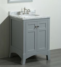 belvedere oak 24inch bathroom vanity set with marble top by belvedere bath shops marble top and online