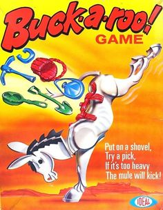 Buckaroo Game | Vintage Board Games & Classic Toys | Vintage Playtime