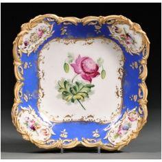 Old Paris Antique Porcelain Serving Plate - Sevres