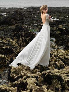 'On Edge' by Maria Senvo ~ Edgy, Fashion Forward Bridal Wear | Love My Dress® UK Wedding Blog