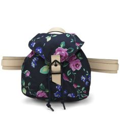 Carven Small Floral Printed Backpack