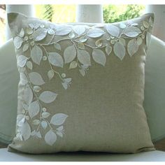 Linen Beauty - 18x18 Inches Throw Pillow Covers - Cotton Linen Pillow Cover with Jute Embroidery The HomeCentric,http://www.amazon.com/dp/B004W0F5FO/ref=cm_sw_r_pi_dp_xvvXsb0RM8RFP532