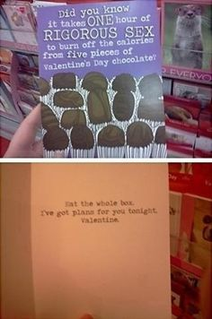 The best valentines card