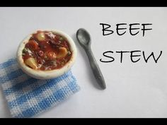 Polymer Clay Beef Stew Tutorial (Miniature Mondays) - YouTube