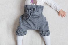 Knit Diaper cover for Baby Dark gray Photo Prop by MarumaKids, $28.00
