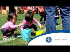 City of Sugar Land EGGStravaganza Egg Hunt - Apr 8th from Noon to 3pm includes egg hunts, carnival games, petting zoo, Easter bunny photos, food and beverages and more!