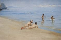 Peder Severin Krøyer - Amalfi - 1890