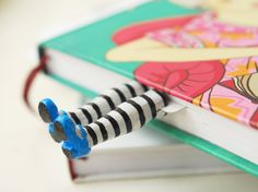 Metal – Alice in Wonderland bookmark – a unique product by MyFactoryHub on…