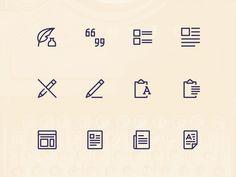 Simple Line Icons Pro - Content