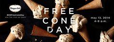 Häagen-Dazs Free Cone Day