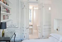 The Maison Champs Elysees Hotel breathes minimalism with provocative execution. Adding to the intrigue of this design, Martin Margiela is a phantom designer whose face is unbeknown to his-or-her many fans across the globe.