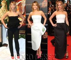 Jennifer Lawrence wears three Dior looks to Cannes!