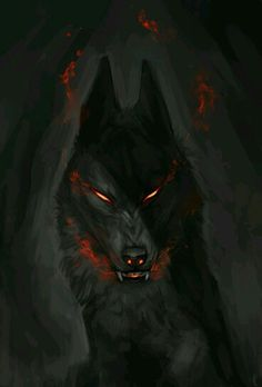 Arens hellhound form she uses sometimes. One of her many forms she takes