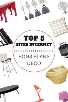 TOP 5 des sites internet pour des VRAIS bons plans déco !  http://www.homelisty.com/top-5-des-sites-pour-de-vrais-bons-plans-deco/