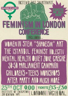feminism in london conference - Google Search