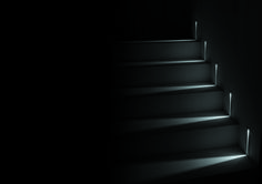 Meet Step, a recessed wall application. Its LED sources create defined light blades on walls and floors. This simple, yet elegant design allows it to be integrated in many different environments. Exterior Lighting, Outdoor Lighting, Light Architecture, Lighting Solutions, Floors, Stairs, Walls, Meet, Elegant