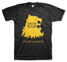 game-of-thrones-gear-me-roar-color-animal- (4) Polo Shirt, T Shirt, Game Of Thrones, Polo Ralph Lauren, Animal, Mens Tops, Color, Women, Fashion