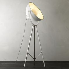 Buy It's About Romi Hollywood Floor Lamp, White from our Floor Lamps range at John Lewis & Partners. John Lewis Floor Lamps, John Lewis Lighting, Unusual Floor Lamps, Retro Lampe, It's About Romi, White Floor Lamp, Keep The Lights On, Contemporary Floor Lamps, Antique Lamps