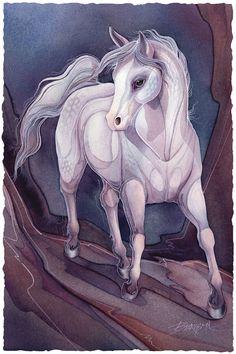 Bergsma Gallery Press::Paintings::Natural Elements::Horses::Desert Horse - Prints