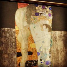 Le tre età della donna Gustav Klimt Galleria d'arte moderna Roma
