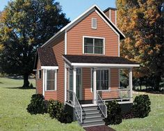 Eplans Cottage House Plan - Three Bedroom Cottage - 1414 Square Feet and 3 Bedrooms from Eplans - House Plan Code HWEPL64833