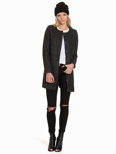 Nelly.com: onlSIDNEY WOOL COAT OTW NOOS - Only - women - Dark Grey. New clothes, make - up and accessories every day. Over 800 brands. Unlimited variety.
