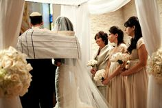 Bride Walking Down The Aisle With Mother And Father Found On