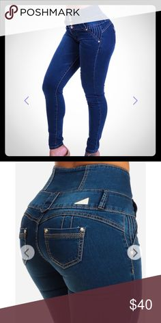 Colombian butt lifting jeans Size 5 lifts your butt up naturally Jeans