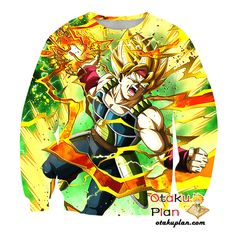 DBZ Furious Attack Super Saiyan Bardock Tank Top - Dragon Ball Z 3D Tank Tops And Clothing