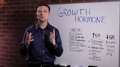 What Is Human Growth Hormone (HGH)? Dr Eric Berg, Dr Berg, Human Nutrition, Nutrition Chart, Muscle Nutrition, Palmer College Of Chiropractic, What Is Human, Diabetes Information, Growth Hormone