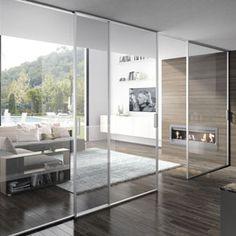 Image result for internal doors glass sliding wooden front room Internal Doors, Glass Door, Divider, Room, Furniture, Image, Home Decor, Bedroom, Decoration Home