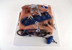 Handy-man cake!  love the band-aid touch! Amazing