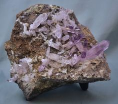 Las Vigas Amethyst Crystal Specimen Vera Cruz 2 Pounds 8 Ounces