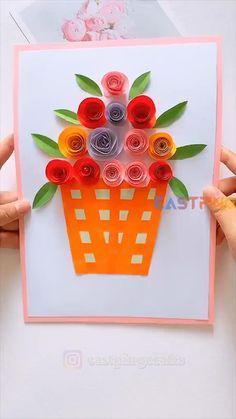 Hand Crafts For Kids, Winter Crafts For Kids, Toddler Crafts, Preschool Crafts, Art For Kids, Diy Crafts For Gifts, Paper Crafts For Kids, Creative Crafts, Easy Crafts