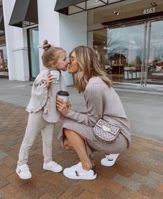Sunday well spent with my mini. Sharing our looks and 5 Time Management Tips fo Mommy And Me Outfits, Family Outfits, Cute Family, Baby Family, Family Goals, Cute Baby Pictures, Baby Photos, Family Photos, Beautiful Pictures