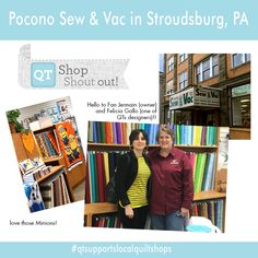 Shout Out to Pocono Sew & Vac in Stroudsburg, PA!