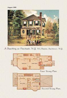 A Dwelling at Flatbush, New York