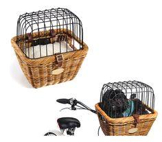 For taking my ferrets in my bike