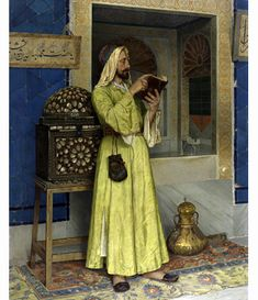 The Fountain of Life,1904 by Osman Hamdi Bey