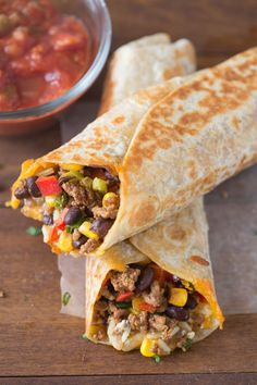 Crispy Southwest Wraps | Tastes Better From Scratch