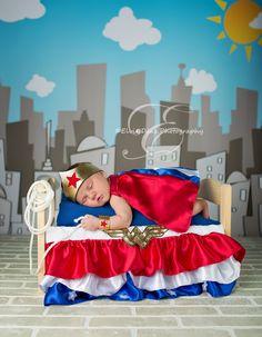 Baby Wonder Woman!