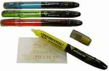 Secret Decoder Spy Pen (Spy Party Favor/pack of 4)