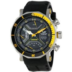 Vostok Europe Lunokhod-2 Multifunctional Silver/Yellow Watch TM3603/6205188