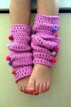 Crochet Leg Warmers Tutorial