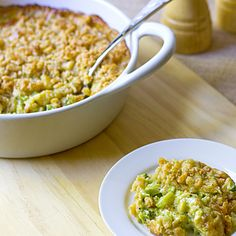 The Midnight Baker: Buttery Broccoli Cheese Casserole...mmmm gotta try this side dish for Thanksgiving this year.
