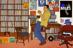 View the online illustration portfolio of Rutu Modan. Grateful Dead, Real Simple Magazine, Bristol Board, Illustration, Miles Davis, Wall Street Journal, Journal Covers, The New Yorker, City Girl