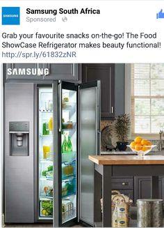 New Samsung Showcase refrigerator