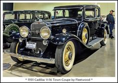 1931 Cadillac V-16 Town Coupe by Fleetwood